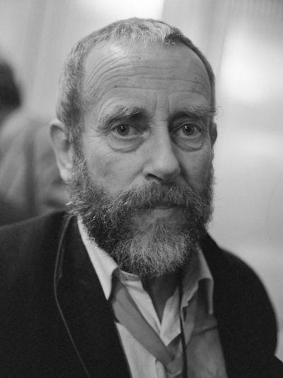Photographer Ed Van Der Elsken posing for a photo