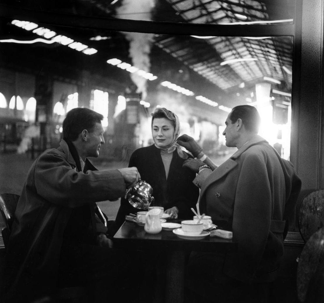 ata kando gare du nord 1957