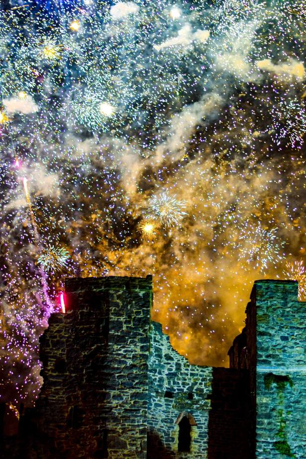 Fireworks Display is the town of Swords near Dublin Ireland