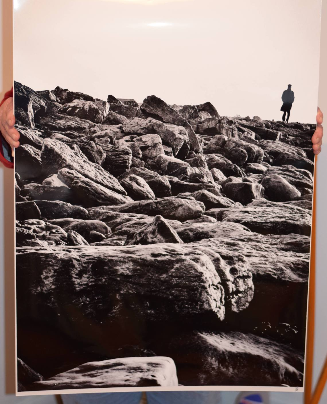 The Burren in Clare Ireland used as a Photographic print sample for the street photographer's guide