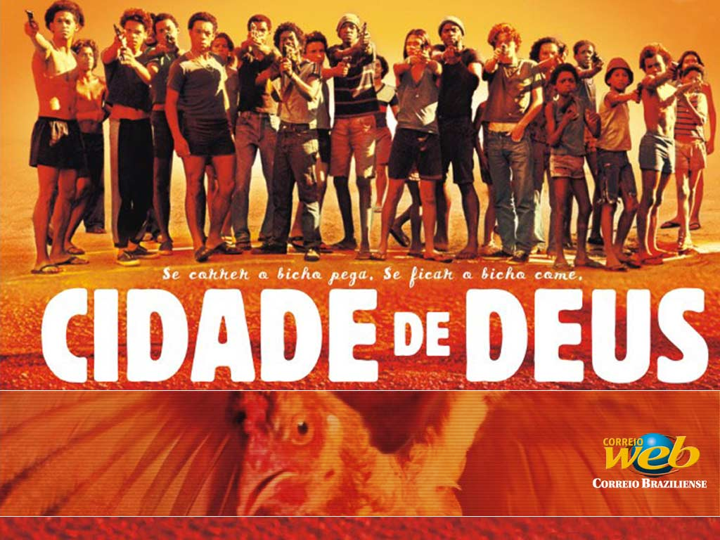 Movie poster for the Brazilian Film Cidade De Deus