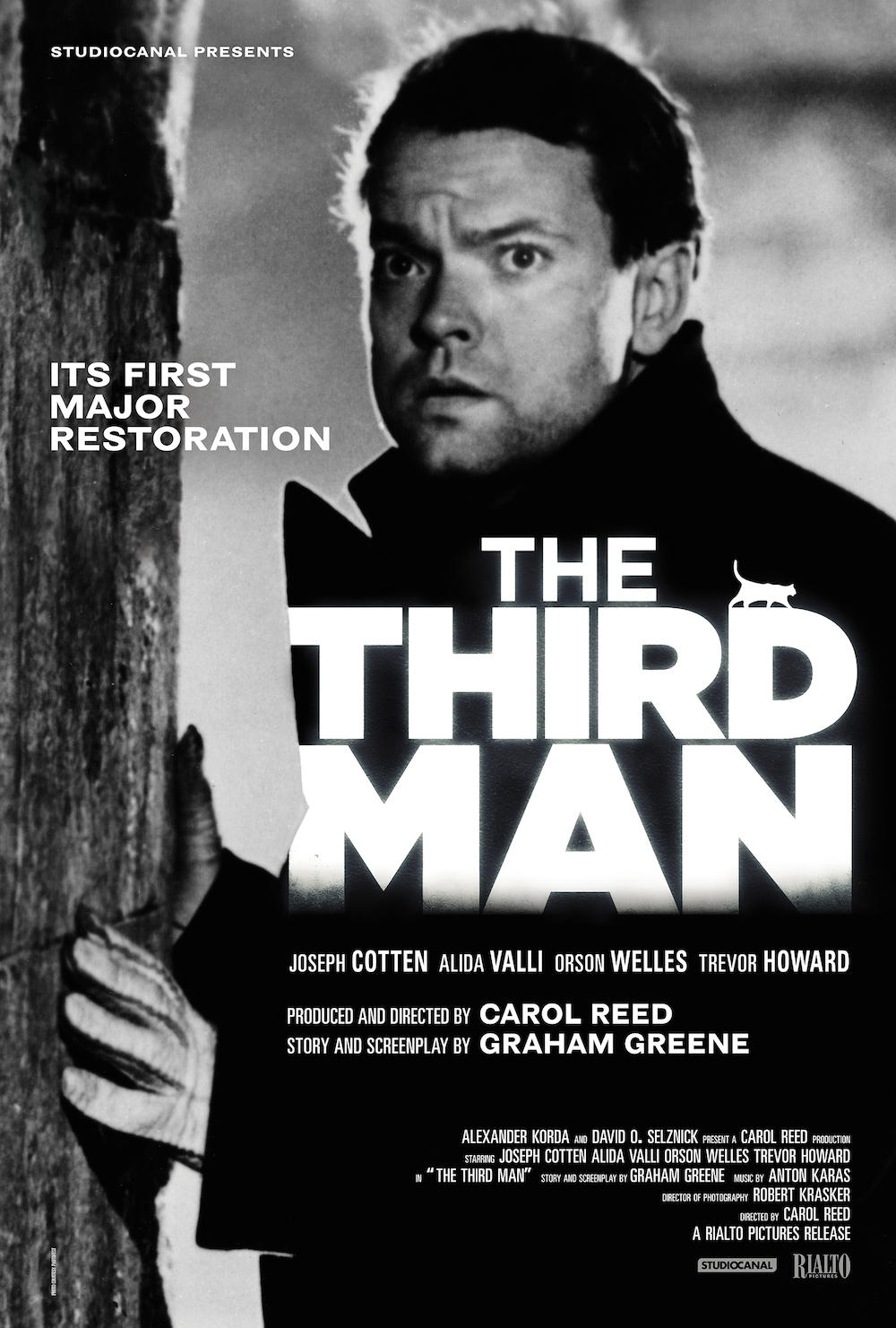 The third man movie staring Orson Wells