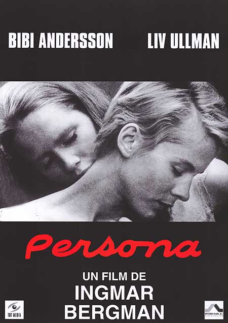 A scene captured from the film Persona for marketing purposes