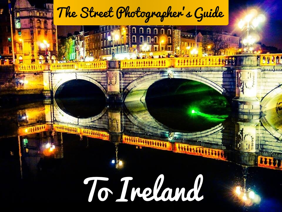 Photograph of O'Connell Bridge in Dublin Ireland