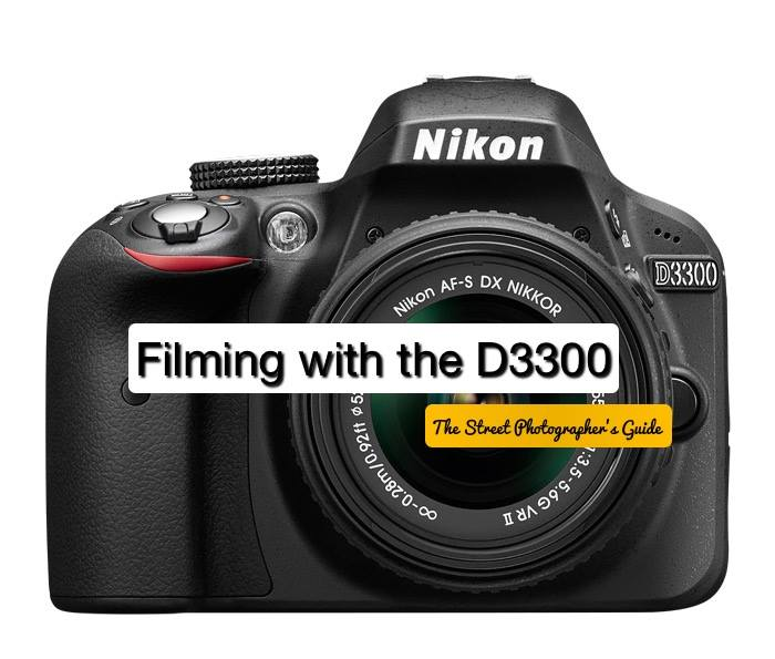 Filming with the Nikon D3300 and external mic